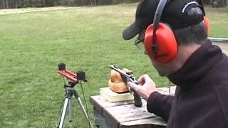 Test Firing The 357 Herrett Thompson Center Contender