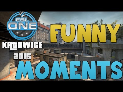 CS:GO Katowice 2015 Funny Moments Part 1! (POV & More!)