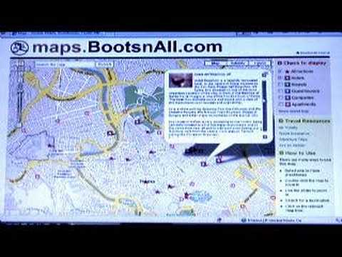 Bootsnall TV - New Map Feature