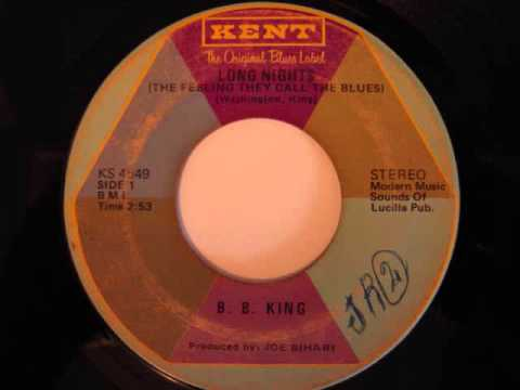 B.B. King - Long Nights