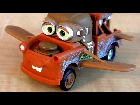 Cars 2 Aviator Mater Hallmark Christmas Ornament Disney Cars Toon Air Mater toy review Blucollection