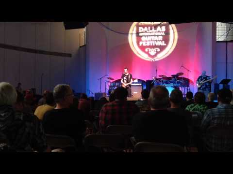 Gary Hoey- The Thrill is gone, Dallas Guitar Festival 2015- Guitar Radio Show