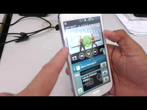 Samsung Galaxy Grand Duos i9082 e Samsung Galaxy S3 i9300 - Hands on - Apresentação - PT-BR