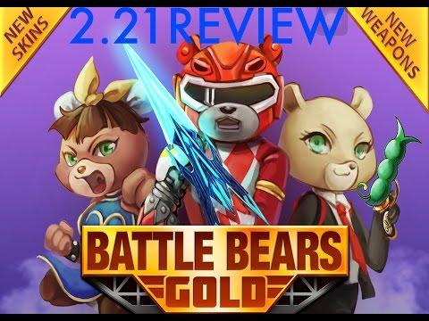 Battle Bears Gold: 2.21 UPDATE REVIEW