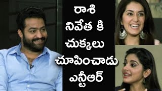 NTR Making Fun With Nivetha Thomas | Team Funny Interview