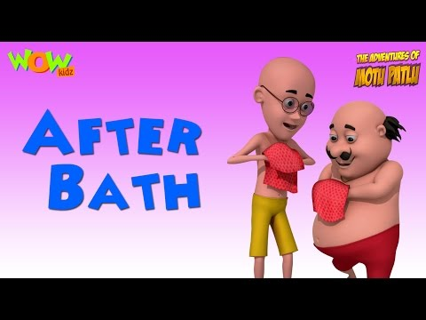 After Bath - Motu Patlu Rhymes in English - Available Worldwide! thumbnail