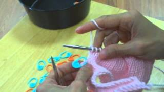 Tii Casa Knitting - Easy No-Wrap Short Rows Method (Part 2 of 2)