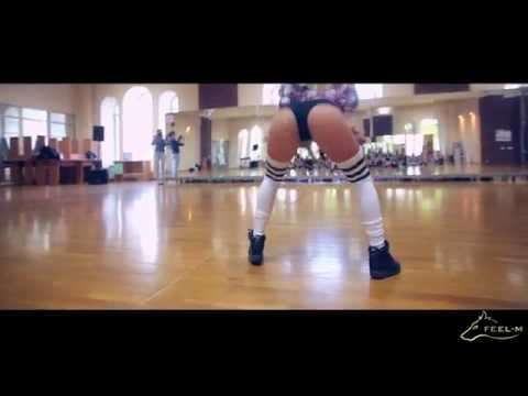 "Omarion - ""Ice box "" twerk choreo by Fraules - ""Greek salad"" project"