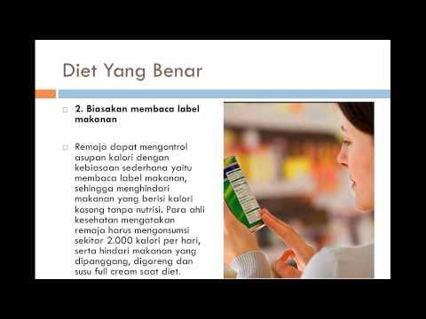 Cara Diet Yang benar alami dan Cara diet Sehat