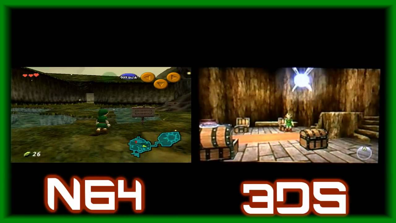 maxresdefault jpgZelda Ocarina Of Time 3ds Gameplay
