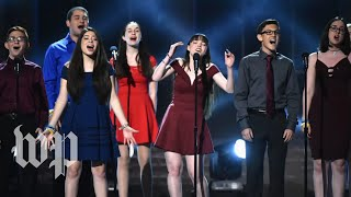 Parkland students give emotional performance at 2018 Tony Awards