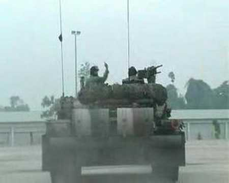 Malaysian Army Main Battle Tank PT91M