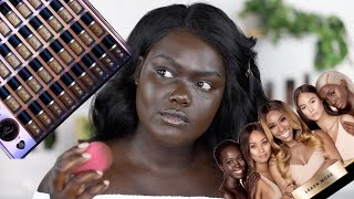 Jackie Aina X Too Faced Born This Way Foundation Review    Nyma Tang