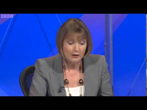 David Starkey Harriet Harman Victoria Coren fight on Question Time p2
