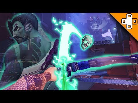 HANZO GHOST ARROW! Overwatch Funny & Epic Moments 401