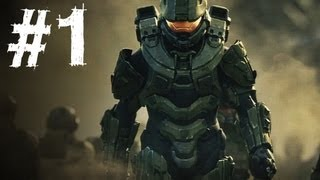Halo 4 Gameplay Walkthrough Part 1 - Campaign Mission 1 - Dawn (H4)