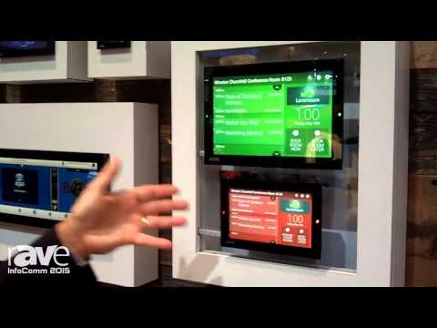InfoComm 2015: Harman Introduces the AMX Roombook Room Scheduling Solution