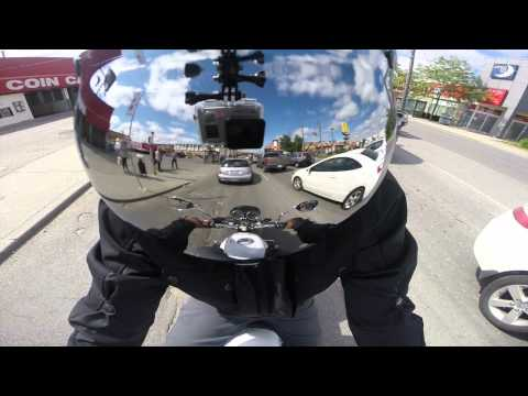 GoPro First Ride Moto Guzzi V7 + Mistral Exhaust