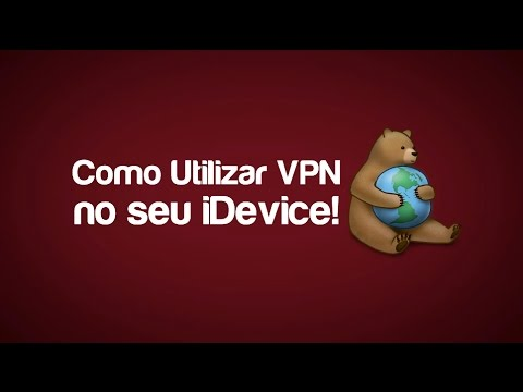 Como utilizar VPN no iPhone. iPad ou iPod Touch!