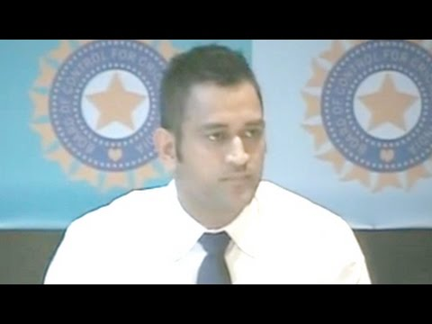 Mahendra Singh Dhoni retires from Test cricket