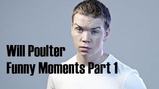 Will Poulter Funny Moments Part 1