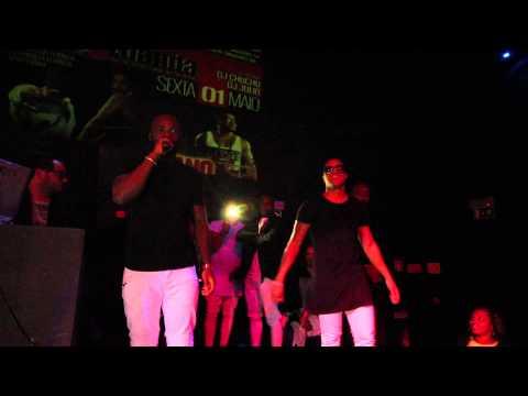 Confira o show dos The Groove em Lisboa na Discoteca Luanda