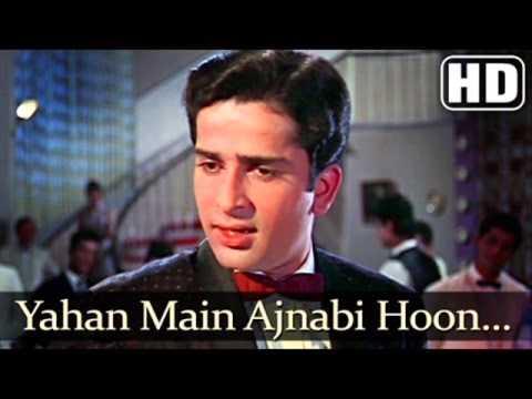 Yahan Main Ajnabi Hoon Superhit Classic Song Jab Jab Phool Khile...