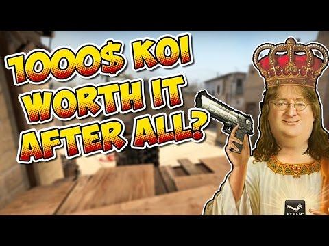 CS:GO - 1000$ Koi - Worth it after all? :D