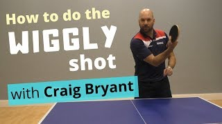 """How to do the """"wiggly"""" shot and seriously confuse your opponent (with Craig Bryant)"""