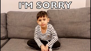 Mohsin Apologizes For His Bad Behavior