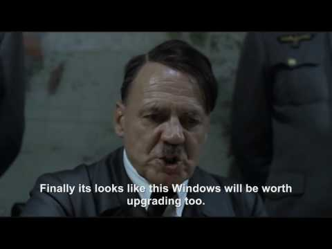 Hitler plans to upgrade to Windows 7