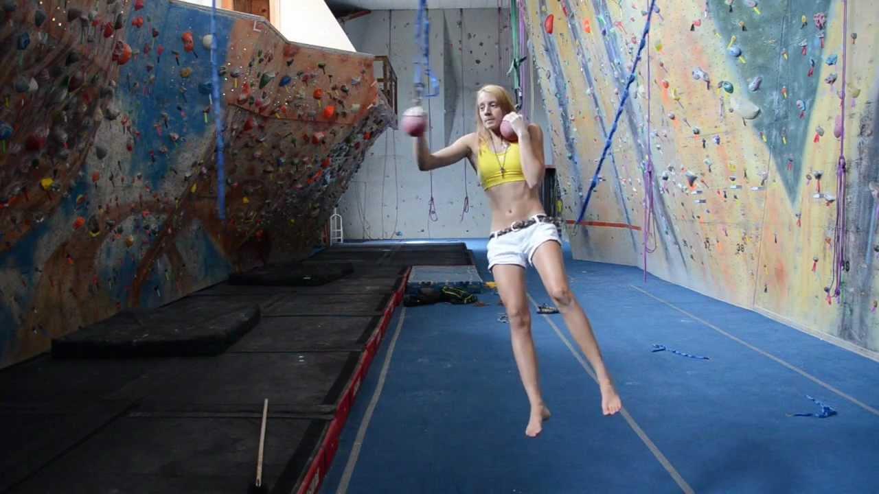 hangboard training