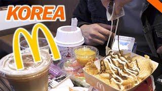 EATING AT KOREAN McDONALD