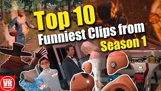 Top 10 Funniest Clips from Season 1 of Hummy's VR Comedy