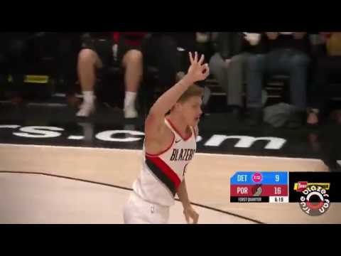 Portland Trail Blazers vs Detroit Pistons - Full Game Highlights - March 17, 2018