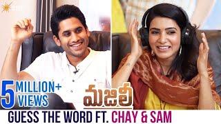 Guess The Word Ft. Naga Chaitanya and Samantha | Majili Telugu Movie | Divyansha | Shine Screens