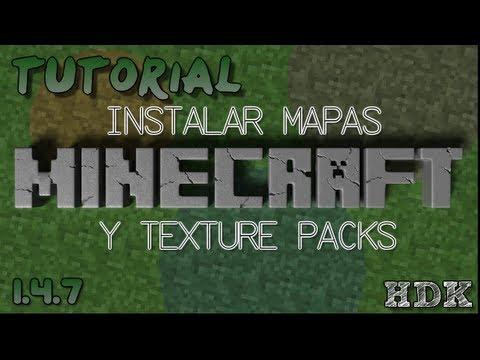Minecraft   Instalar Mapas + Texture Packs (1.5.2)   HD