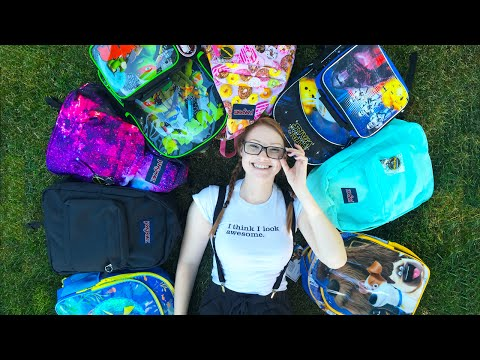 ANNUAL BACK TO SCHOOL GIVEAWAY! 8 Backpacks FILLED w/ Supplies!