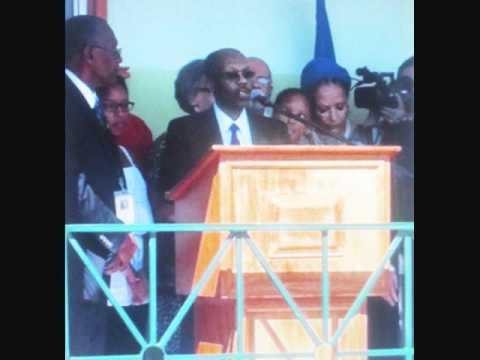 Aristide and Family Back in Haiti: His Speech: March 18, 2011 (Part 1 of 2)