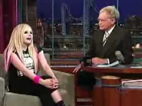 The David Letterman Show - Girlfriend (Live)