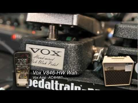 Wah Wah Pedal Shootout: Vox V846-HW vs Vox V847 Wah Wah Pedal at NAMM 2013