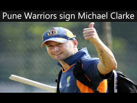 Pune Warriors sign Michael Clarke