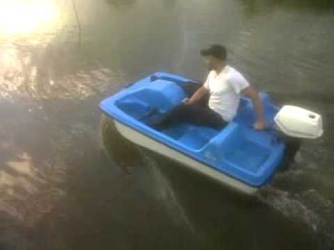 Gotomgo 7hp Pedal Boat Test Drive Youtube