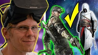 GOOD FOR VR? Assassin's Creed & Splinter Cell Oculus Exclusive Games