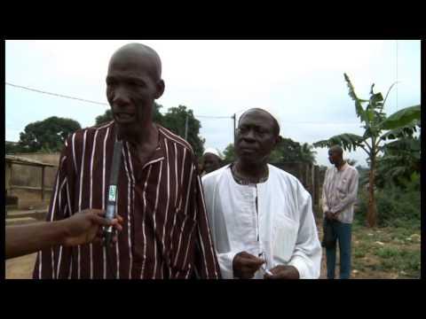 Bingerville/Gbagba: Un trou menace la quiétude des populations