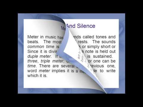 Basic Music Terms for Singers