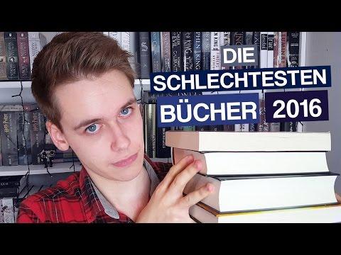 Die SCHLECHTESTEN BÜCHER 2016   Meine absoluten FLOPS   Phils Osophie