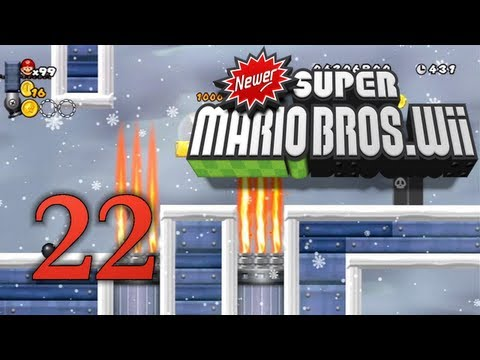 Newer Super Mario Bros. Wii (Kommentiert, German, 100%) [Part 22 - Ersatz-Heitzungen gut angebracht]