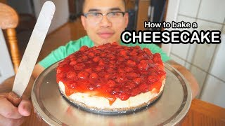 How to bake a CHEESECAKE