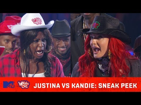 Justina Valentine Heats Up the Ring w/ Kandie 🔥| Wild 'N Out | #GotDamned